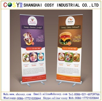 Portable Aluminium Roll up Stand with Good Quality for Exhibition pictures & photos
