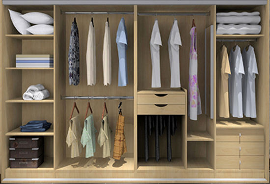China Modular Wardrobe for Modern Design Bedroom Furniture