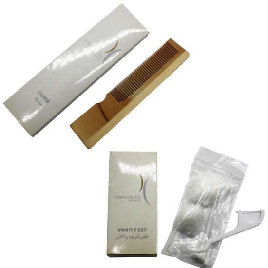 Coral Hotel Room Amenities Set Manufacturer Hotel Supply pictures & photos