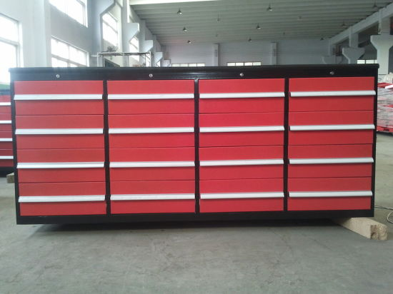 China Heavy Duty Garage Workshop Roller Storage Tool Chest For