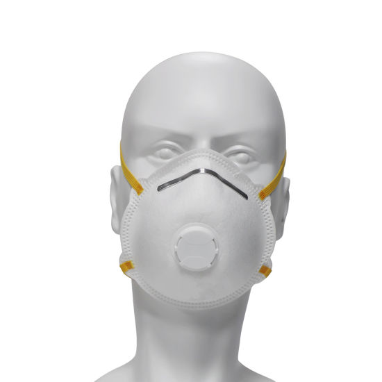CE Certified 5 Layers Mouth Shield Protecting Mask Cup KN95 Mask with Filter Valve