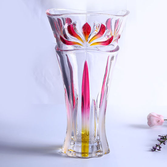 Cylinder Glass Vase pictures & photos