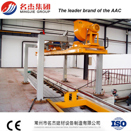 Autoclaved Aerated Concrete AAC Fly Ash Brick Manufacturing Machine pictures & photos