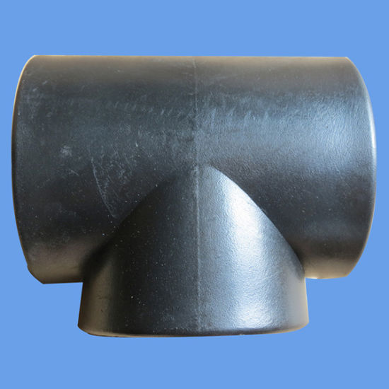Manufacturer Price HDPE Straight Tee Butt Welding Equal Tee pictures & photos