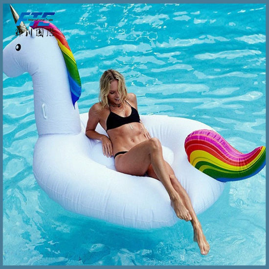2018 Unicorn Inflatable Pool Floats Pool Toys Swimming Pool ...