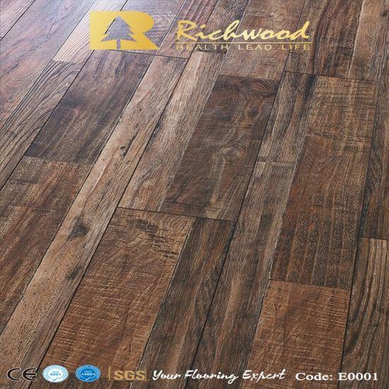 Vinyl Plank 8 3mm E0 Hdf Parquet, Hickory Laminate Flooring