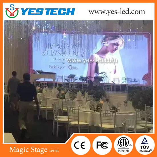 Advertising P3.9 Full Color Indoor LED Display Sign