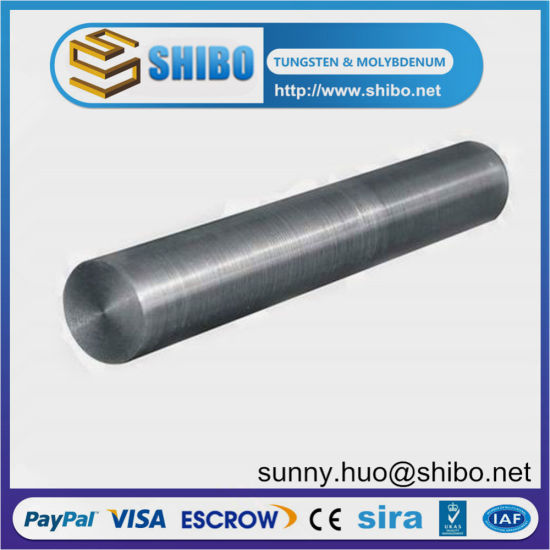 Tungsten Rod/High Purity Ground Finish Tungsten Bars pictures & photos