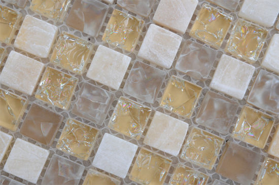 China Bathroom Background Decorative Faceted Elegant Glass