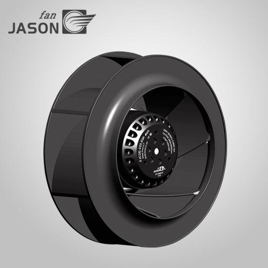 Centrifugal Fan 225mm AC Air Blower Fan Plastic Air Cooling Ventilation Blower Centrifugal Fan