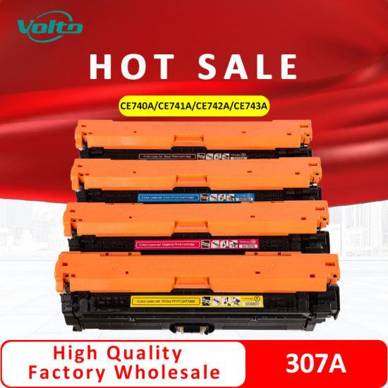 Compatible HP Toner Cartridge 307A Set Ce740A Ce741A Ce742A Ce743A for HP Color Laserjet Cp5225