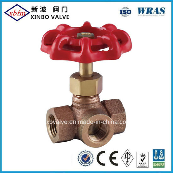 Three Way Bronze Stop Valve pictures & photos