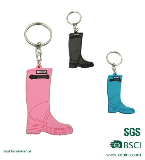 Custom Design Soft PVC Keychain for Promotion pictures & photos