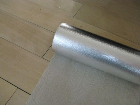 Aluminum Foil Coated Fiberglass Fabric