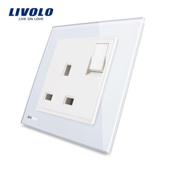 China Livolo Hot Sale Ce Certified UK 1 Gang 13A Socket Vl-W2z1UK1 ...