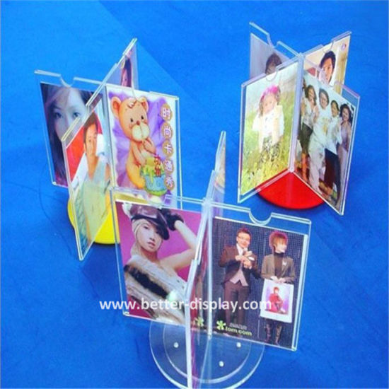 China Cleap Clear A4 Plastic L Shaped Poster Frame China A4