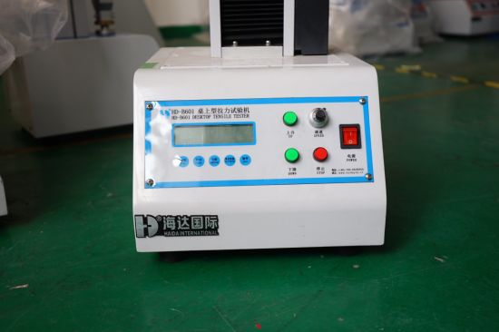 Automatic Single Column Tensile Strength Testing Machine pictures & photos