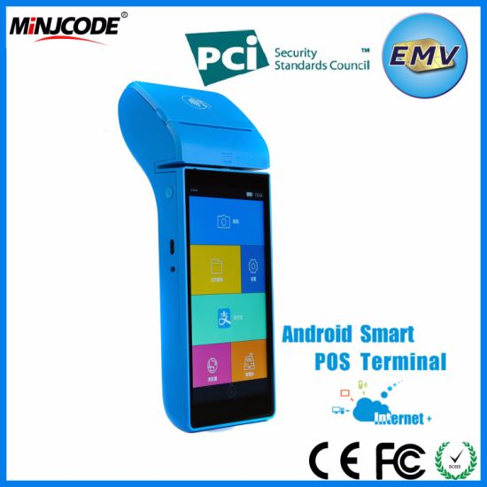 Smart POS Terminals, EMV/PCI Certificate, Best Quality Touch Screen  Handheld POS Terminal, GPRS, Wi-Fi, Bluetooth for Payment, Mj P2000