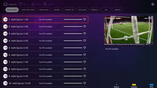 Arabic 4K IPTV Box Sport Channels with One Year IPTV pictures & photos