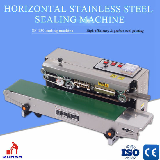 Horizontal Continues Band Sealing Machine for Film, Bag, Foil (SF-150W)