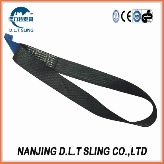 Flat Webbing Sling for Lifting One Way