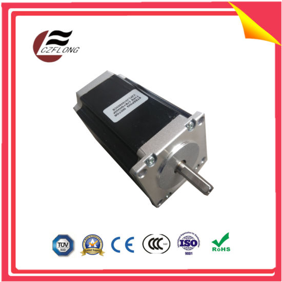 Small Vibration 1.8-Deg NEMA34 86*86mm Stepping Motor for Embroidery Machine pictures & photos