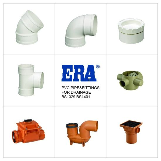 Prompt Shipment Popular Brown Certificated UPVC Drainage Fitting P-Trap pictures & photos