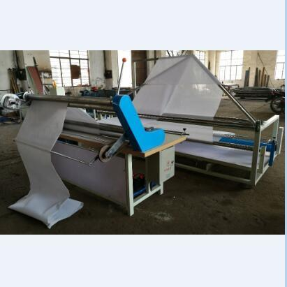 Fabric Textile Double Folding Rolling Machine