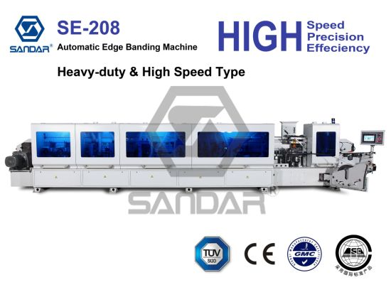 Heavy Duty High Speed Woodworking Banding Machine with Conner Trimming