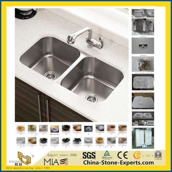 Natural Marble/Onyx/Granite/Quartz/Acrylic/Artificial/Ceramic/Art/Porcelain/Stone Wash Basin Sink Bowl for Bathroom/Kitchen/Countertop pictures & photos