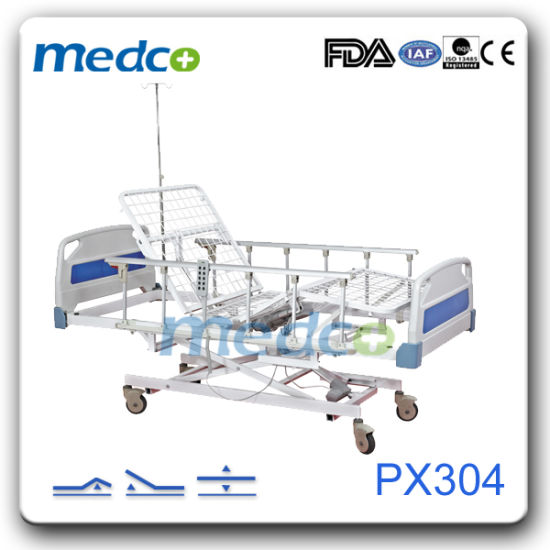 Ultra Low Hospital Patient Care Three Functions Electric Bed