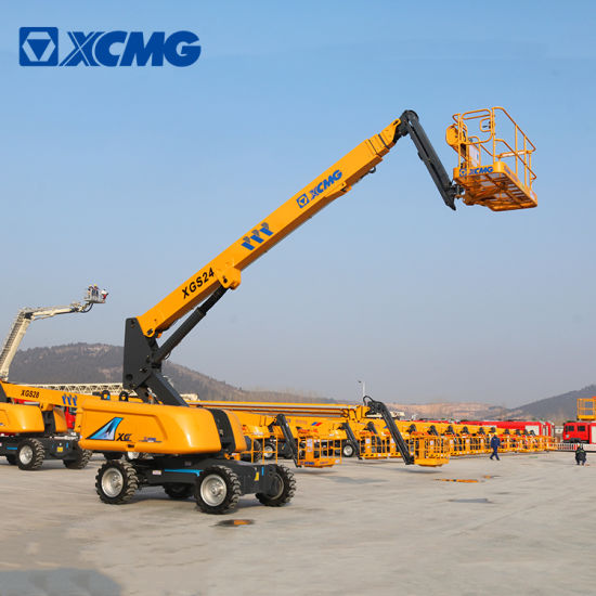 XCMG Official 22m Mobile Telescopic Lift Table Xgs24