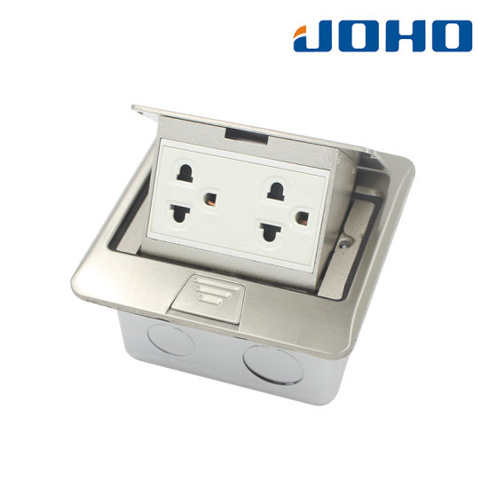 DCT-T17/Pb Pop up Type Stainless Steel Square Type Ground Socket