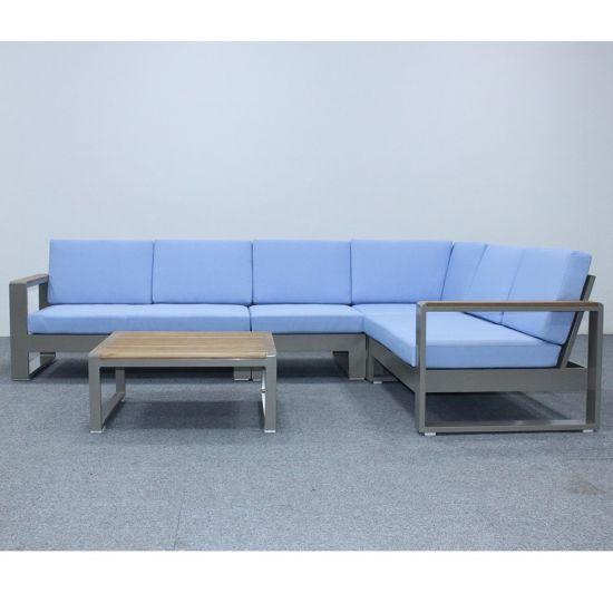 Outdoor Furniture Modern Garden Aluminum Sofa Set