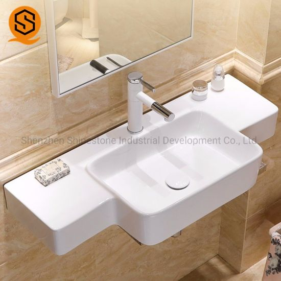 Promotional Modern Design Bathroom Marble Vanity Top Wash Basin for Home