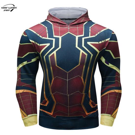 Cody Lundin Cotton Men's Running Jackets Coats Reflective Strip on Winter Hoodies Fitness Gym Workout Sportswear