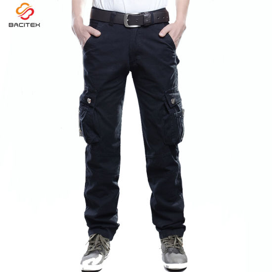 Manufacturers Men Casual Work Trousers Military Sports Outdoor Cargo Pants pictures & photos