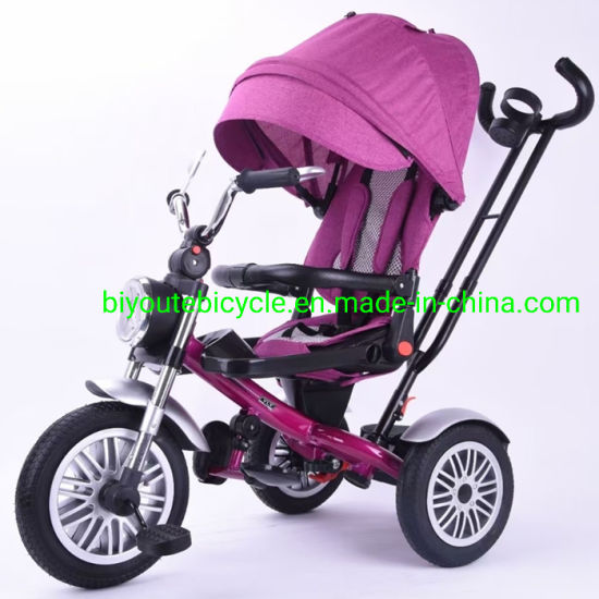 Kids Tricycle with Push Handle High Quality Tricycle Children