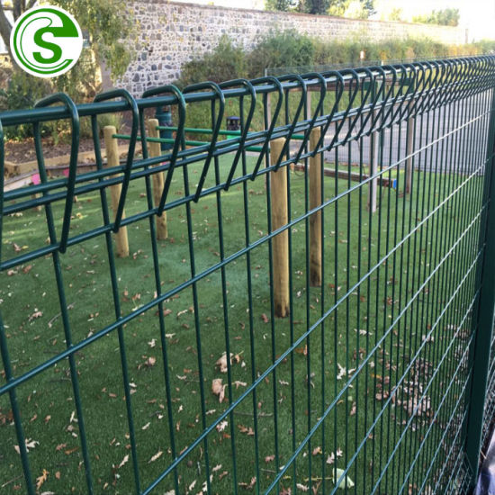6FT Decorative Green Vinyl Coated Welded Wire Mesh Brc Fence for Sale