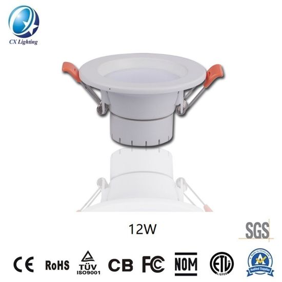 High Quality Factory Price LED Downlight 12W 4inch 180X240V 140X66mm with Ce RoHS Warranty 3 Years IP44 pictures & photos