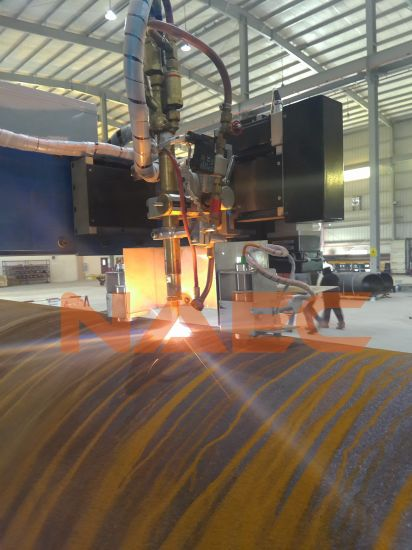 "Two-Axis CNC Flame/ Plasma Pipe Cutting/ Profiling Machine 24-60"""
