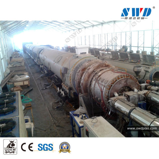 HDPE LLDPE LDPE PPR PP PE Gas Water Irrigation Tube Extrusion Plastic Pipe Production Line