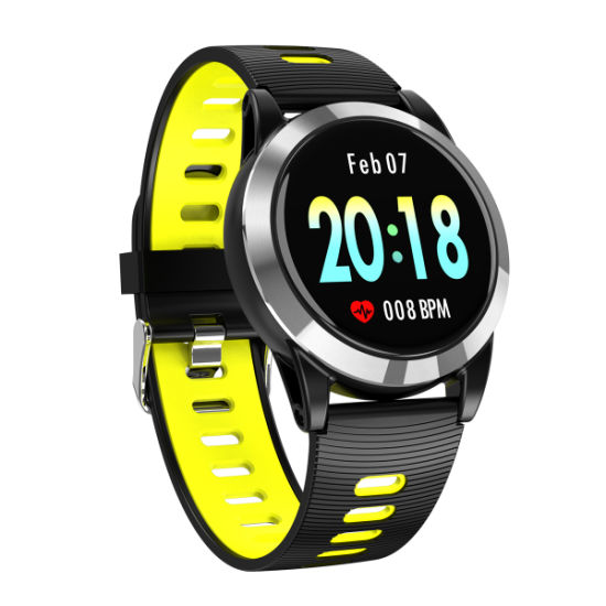 2019 Fashion Ipx67 Waterproof 2.5D Tempered Glass TPU Strap Men′s Bluetooth Watches Weather Forecas Digital Smart Wrist Watch pictures & photos