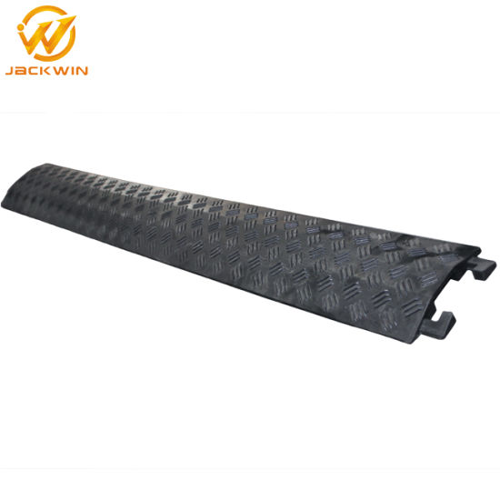 Cable Cover Ramp One Channel PVC Cable Protector