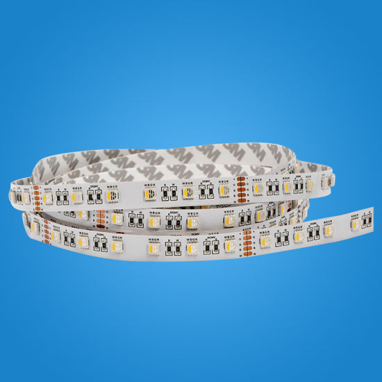 Flexible LED RGBW Strips Decorated for Shop