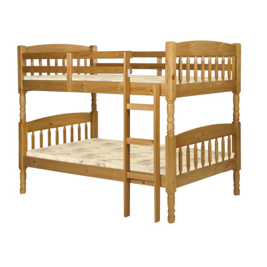 China Cheap Pine Wood Bunk Beds With Stairs China King Bed Double Bed Frame