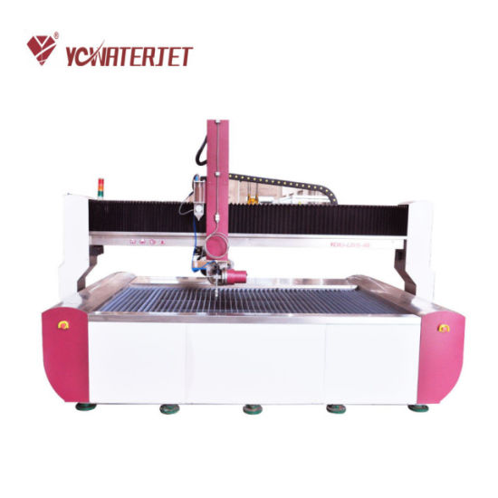 China Yc Waterjet Cutting Stone 5 Axis Water Jet Machine for