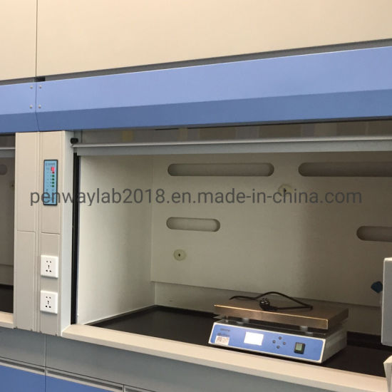Anti-Corrosion Painted Steel Lab Bench-Top Fume Hood