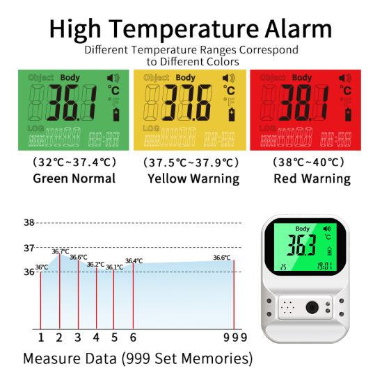 China Wholesale CE FDA Non Contact Handfree K3 PRO Plus Wall Mounted Infrared Thermometer Digital Yoko Sm-T60
