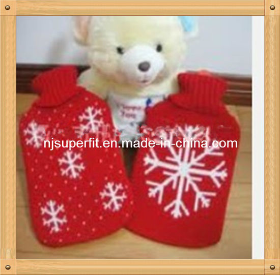 Christmas Hot Water Bag Knitted Cover (C02) pictures & photos